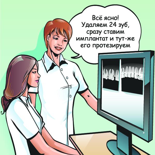 Постановка стоматологического диагноза
